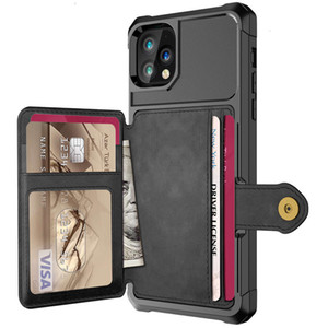 Luxury PU Leather Wallet Case for iPhone 12 Pro Max iPhone 12 Mini Cases Wallet Flip Cover Buckle for iPhone Phone 12 Fundas