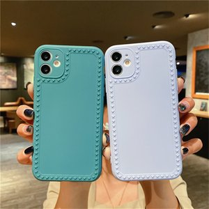 Candy Color Stars Phone Case For iPhone 12 11 Pro Mini Max 7 8 6 6S Plus XS XR X SE 2020 Camera Protection Soft Back Cover