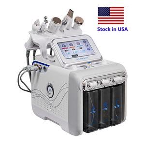 Сток в США Гидро лицевой машины Кислородный водородный водородный генератор 6 в 1 гидра Ceel Hydradermabrasion Almer Micro Dermabrasion на продажу