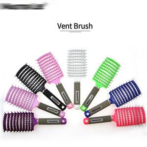 New Detangling Brush Hair Brush Tangle Removal Comb For Wet Hair Shower Brush For Curling Wavy Long Hair