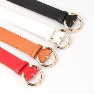 Belts High-quality Fashion Women's Belt, Trendy Alloy C-buckle Head Lychee Pattern Pu Wild Decorative Belt