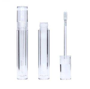 5.5ml vidage lèvre brillant bouteille ronde tube bricolage rouges à lèvres récipient rechargeable flacons échantillons affichage maquillage accessoires FWD4875