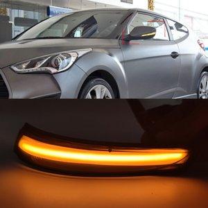 1Pair LED Turn Signal Light For Hyundai Elantra GT Avante MK5 MD UD Veloster i30 GD Dynamic Blinker 2011 2012 2013 2014 2015