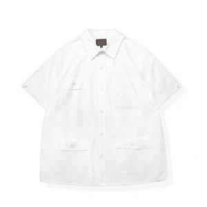 2021 primavera collo girocollo manica corta in cotone tessuto da stampa ricamo europeo di grandi dimensioni in bianco e nero multi colore 0Y7 uomini Plus tees polo