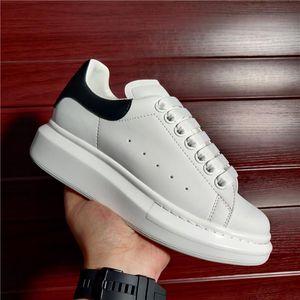 2021 Мужчины Женские платформы Кроссовки Скейт Обувь Повседневная Открытый Белый Белый Подлинные Замшевые Кожаные Тренеры Человек Бренд Модный Дизайнер