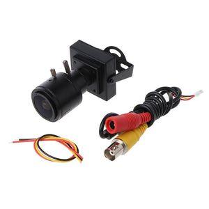 Camcorders 700TVL CMOS 2.8-12mm Zoom Lens Mini CCTV Security Camera Video DIY