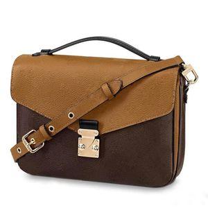Pochette Métis Bolsa Messenger Bag Designer marca um ombro moda senhora
