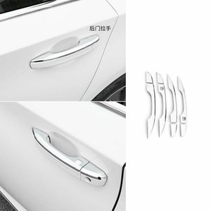 For HONDA Accord 10th 2018-2020 Steel Chrome W  Side Door Handle Bowl Cover Trim