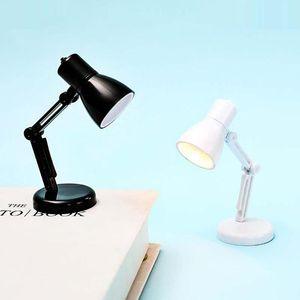 Table Lamps Modern Dimmable Desktop Bedside Decorative Mini Book Clip Bedroom Night Light Adjustable Eye Protection Warm Lighting