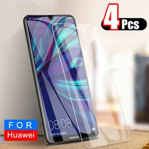 Закаленный экран протектор для Huawei P30 P20 Lite P Smart Plus Y5 Y6 Y7 2019 Честь 10 Lite 10i 8a 8x 8C Стеклянная пленка