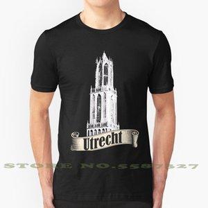 Summer Funny t Shirt for Men Women Utrecht Domtoren Tower Dutch Netherlands