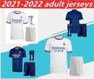 2021/2022 Football Real Madrid Soccer Jersey 2021 Camiseta de Futbol Hazard Benzema ISCO Kit da footbal Modric