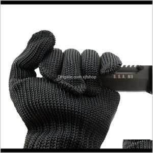 Protective Gear Aessories Tactical Gearanti Cutting Cut Proof Safety Breathable Outdoor Working Gloves Hands Protector Drop Delivery 2021 Yg