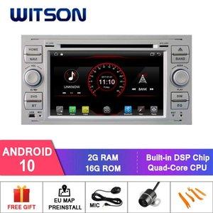 Jugador Witson Android 10.0 GPS Sistema de navegación para enfoque (versión) Enlace DVD del automóvil / DAB / OBD / TPMS / DVR / WIFI / 3G / 4G Soporte