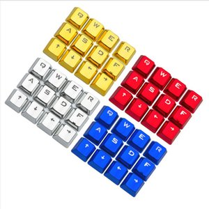 12 key Caps backlit WASD Direction Keycaps With Keycap Puller For Cherry MX Switches Mechanical Gaming Keyboard Replacement key cap
