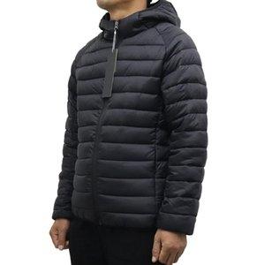 Новый стиль мужские куртки зимняя верхняя одежда легкий вес мужские пальто высокого качества парки теплые ветрозащитные пальто открытый открытый вскользь зимы капюшона мужская одежда