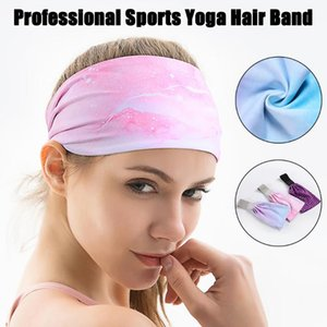 Absorbent Cycling Yoga Sport Sweat Headband Men Sweatband Breathable Hair Bands Head Bands#y3