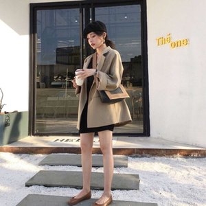 Spring and Summer Fashion Frame Color Contrast Small Square Bag Cowhide Women's Wide Shoulder Strap Single Diagonal Cross