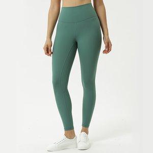 Align Women Gym Butt Lift Compression Sport Leggings High Tail Yoga Broek Tummy Nylon Control