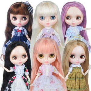 Customized l Shiny Face,1 6 Bjd Ball Jointed Doll Custom Blyth Dolls Girl, Gift for Collection