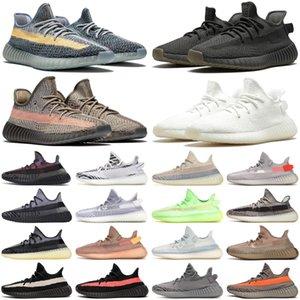 yeezy yezzy 350 V2 kanye west Cinder 350 Zyon Erkek Kadın Koşu Ayakkabıları Zebra Asriel Çöl Adaçayı Yecheil Yansıtıcı Bred Erkek Eğitmenler Spor Sneakers 36-46