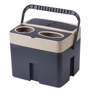 Car Organizer Functional Storage Box Trash Can Cup Holder Tissue Holders Auto Interior Accessories 3 Colors For Options