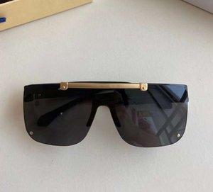 Siyah Dikdörtgen Kaplama Güneş Gözlüğü Gri Lens 1194 Erkekler Moda Güneş Gözlükleri Sonnenbrille Gafa De Sol Gözlük Kutusu ile Yaz Yaz