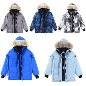 Designer canada jacket winter Expedition hooded warm Coats downs men parka Lover Parkas Mens Outerwear Fourrure Down coat women fur jackets Thicken