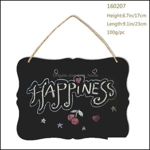 Metal Painting Arts, Crafts Gifts Home & Gardendecorative Double-Sided Small Blackboard Welcome Door 160207 Health And Beauty Personal Care