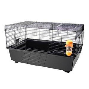 Suministros para animales pequeños Tazón de gran tamaño Hamster CAJA BÁSICA CAGE SQUID MOUTE VILLA VILLA DE ORO DE ORO Soluciones de alambre de hebilla fija