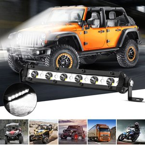 1pc Car LED Lights Work Bar Working Lamp Driving Fog Offroad SUV 4WD high quality 6LED Auto Boat Truck Emergency Light accessories