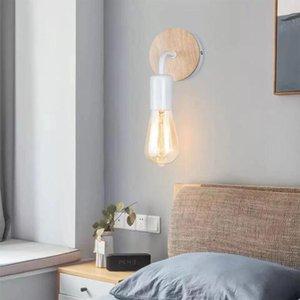 Wall Lamps Wooden Industrial Loft Lamp Vintage Retro Decorative Living Room Home Interior Lighting Decoration