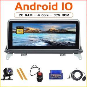 """Jugador Zltoopai 10.25 """"Android 10 Auto Radio Multimedia para X5 E70 X6 E71 2007-2013 CCC CIC GPS GPS Cabeza de navegación Unidad Estéreo DVD"""