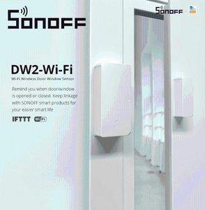 Smart Home Control SONOFF DW2 WiFi Wireless Door Window Sensor Detector App Notification Alerts Security Works With E-WeLink
