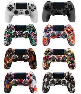 Cores mais recentes Controlador Sem Fio Bluetooth para PS4 Vibration Joystick Gamepad Jogo Lidar com Controladores Camo