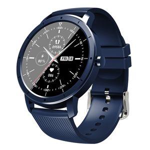 HW21 Round Smart Watch 1.32 дюймовый напоминание о сообщениях сильные аккумуляторы спортивные часы сердечного ритма фитнес-трекер браслет