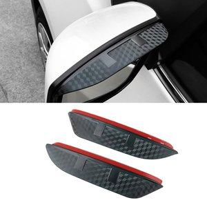 For Nissan Altima Teana 2003-2021 Car Side Rearview Mirror Rain Visor Carbon Fiber Texture Eyebrow Sun Shade Snow Guard Cover