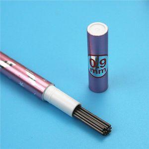 Lápiz mecánico de 0.9mm Recarga una caja de 15 2B Black Leads Reabilizos