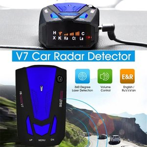 Velocity Radar Vehicle Radar Advanced Car Security Protection Monitor Alarm System V7 LCD Display Universal