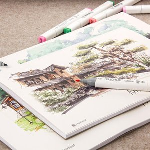 Sheets A4 Notebook Paper Marker Pad Book Student Coloring Design For Sketch Cute Draw School Art Supplies Notepads