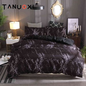 2 3pcs Personality Fashion Marble Lines Duvet Cover Pillowcases Queen King Size Soft Bedding Set Filling No Bed Sheet
