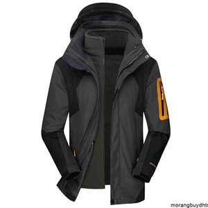 2021 Autumn and Wintermen 2020 Winter Brand Warm Thick Waterproof Jacket Parkas Men Outwear Windproof Coats Polar Fleece Liner Outdoor Windbreaker Men0oak