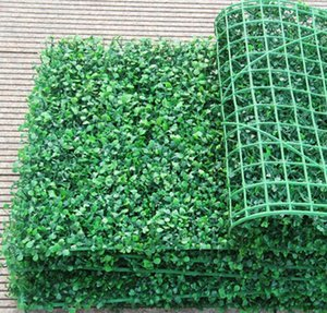 Artificial Grass plastic boxwood Decorative Flowers mat topiary tree Milan for garden home Store wedding decoration
