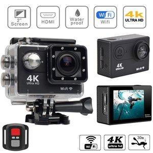 Ultra HD 4K 30fps Original H9 Action Camera WiFi 2.0inch 170D Waterproof Helmet Sport Cam Waterproof Video Recording Cameras 210319
