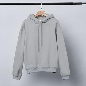 High Quality Hoodies Famous Men Women Couples loose Casual Pullover Sweatshirt Mens Hoodie gray size S-XL