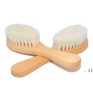 خشبية الطفل حمام فرش دش الجسم تنظيف تدليك فرشاة الشعر مشط المنزلية الحمام النظيفة اللوازم NHB7970