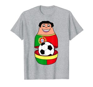 Portugal Soccer Mascot | Russian Nesting Doll Gift T-Shirt