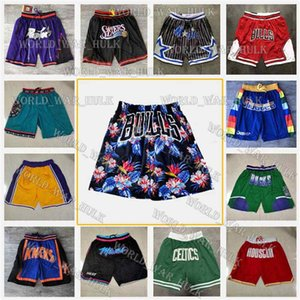 Chicago Memphis Bulls Grizzlies Just Don Baloncesto Shorts Brooklyn Toronto Nets Los Angeles