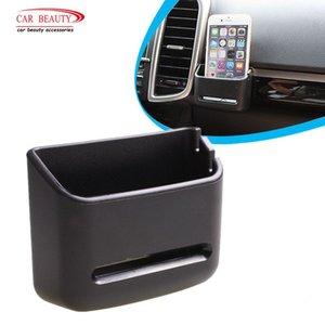 Car Storage Box For Coin Card Mobile Phone Holder Auto Interior Supplies Sundries Bracket Soft PVC Car Organizer Box