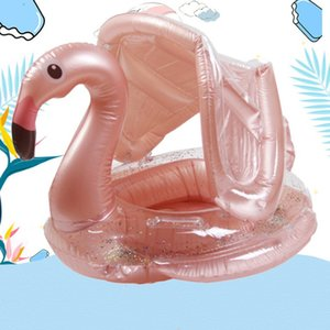 Inflatable Pool Floats Flamingo Swim Tube Rings Beach Floaties Party Toys Raft Lounge for Adults Kids Swimming Ring